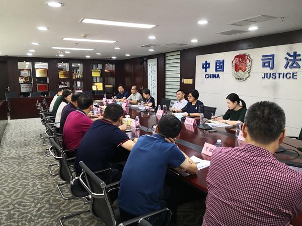 蒋小文副局长出席特区教育督导专题立法座谈会