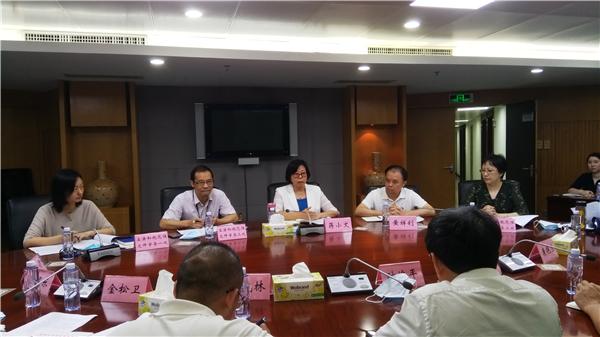 蒋小文副局长与市政府办公厅时煌平副主任一行座谈交流